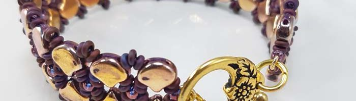 Ginko Garden Trellis Bracelet