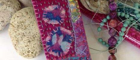 Amulet Pouch Necklace: Stitch + Beads