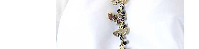 Going Batty: Necklace & Earrings, & Skull Earrings