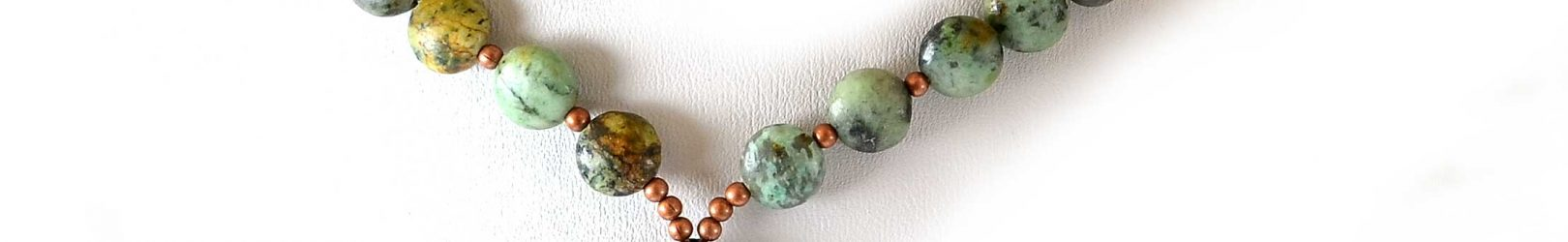 Coppered Turquoise Necklace